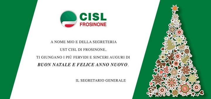 Foto E Auguri Di Buon Natale.Auguri Di Buon Natale E Felice Anno Nuovo Cisl Frosinone